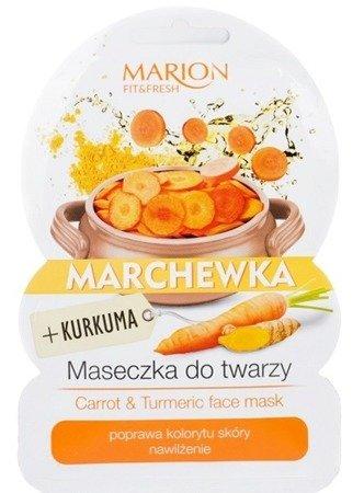 MARION FIT&FRESH maseczka marchewka+kurkuma 9G