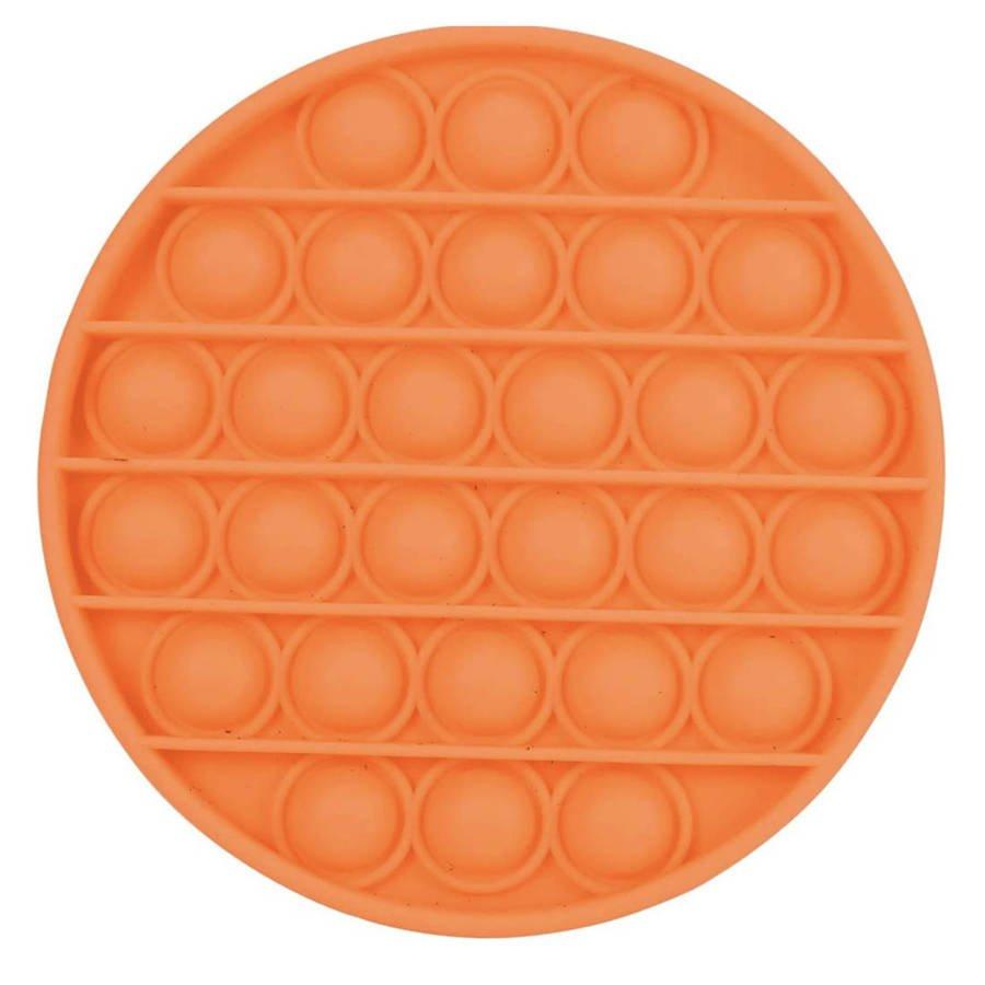 Push Bubble Pop It Zabawka Sensoryczna Bąbelki Pomarańczowa