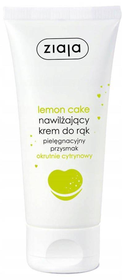 Ziaja Lemon Cake Nawilżający Krem do Rąk 50ml